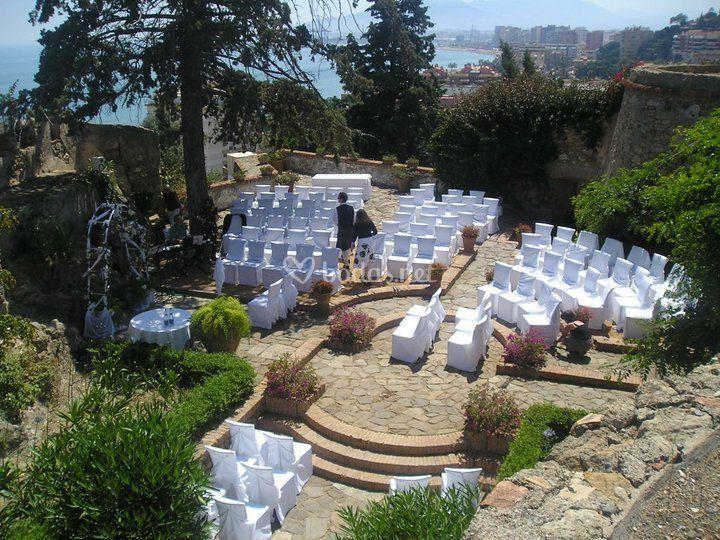 Montaje boda civil