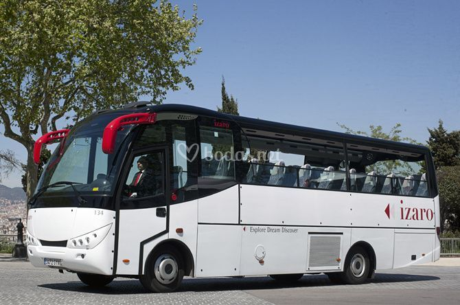 Autocar panorámico Barcelona