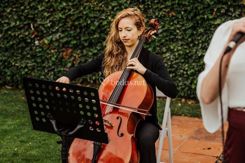 Ceremonia con cello acústico