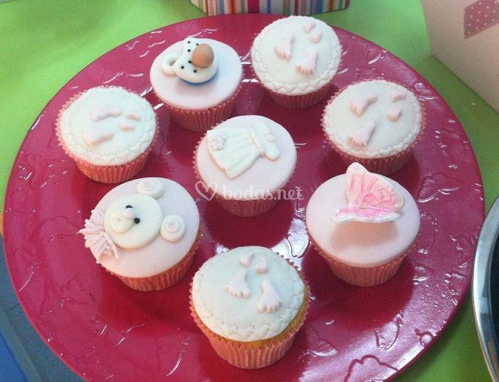 Cupcakes varios dibujos