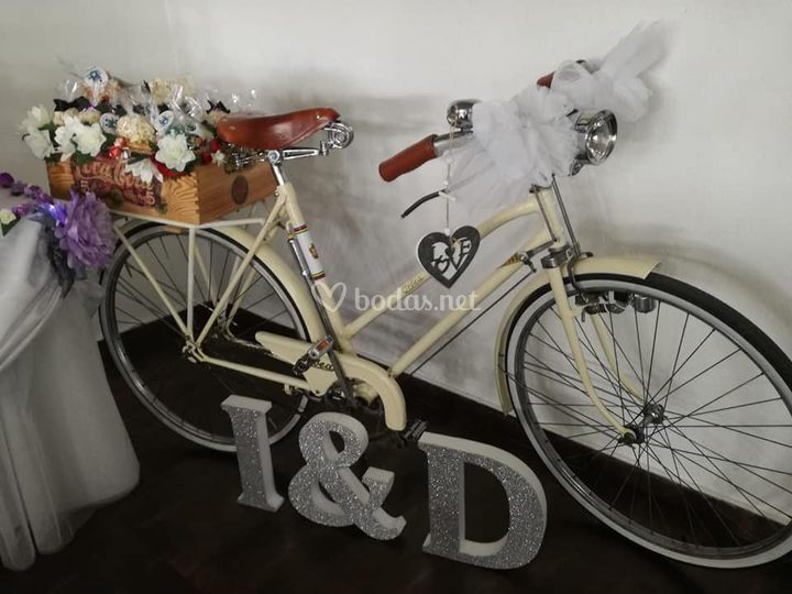 Bicicleta y palomitas