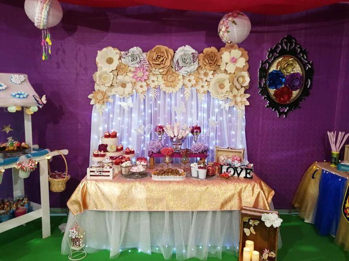 Mesa dulce vintage