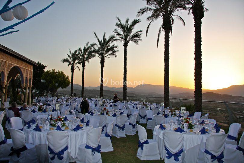 Celebración en nuestra Terraza Alhambra
