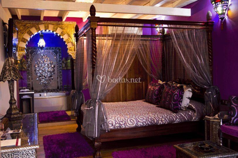 La habitación para tu noche de bodas