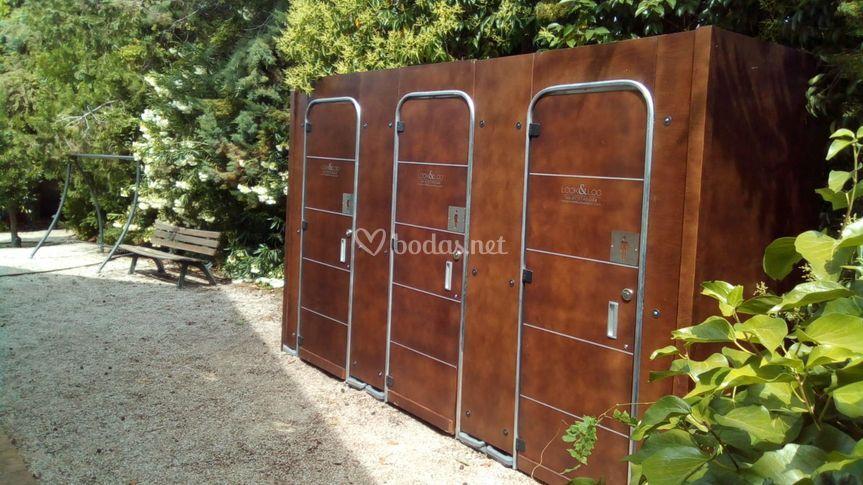 Cabinas de madera para bodas
