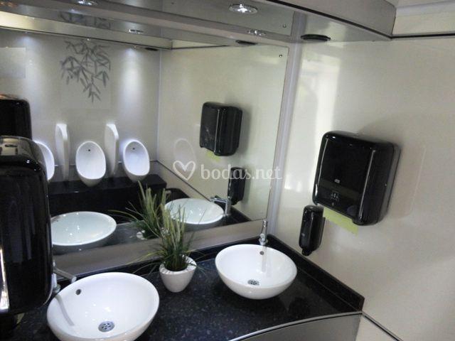 Baños moviles de lujo