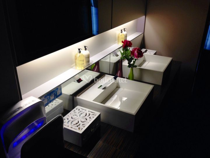 Baños portatiles de lujo