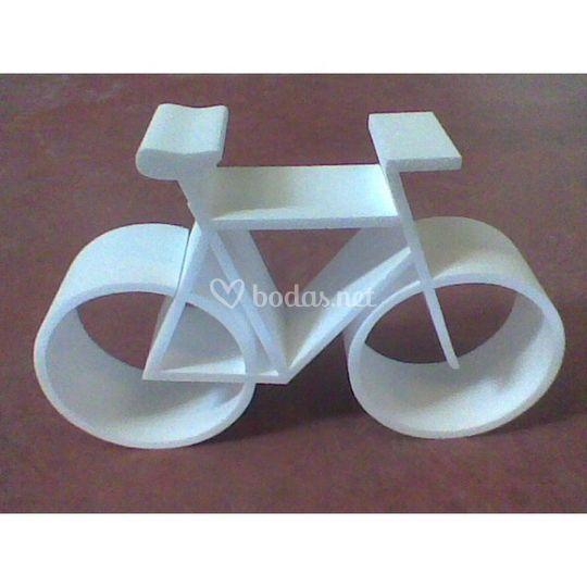 Bicicleta de poliespan