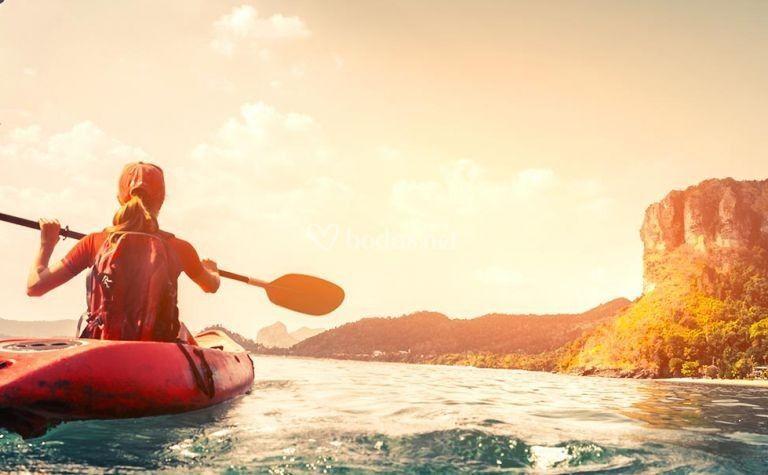 Kayak en Tailandia