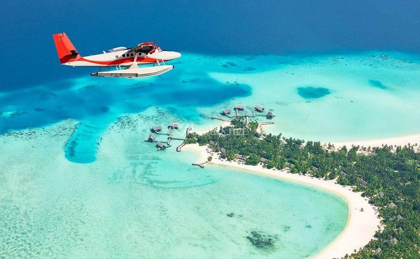 Disfrutar de Maldivas