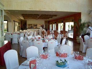 Montaje de sala para boda