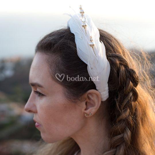 Diadema Julia (plumas)