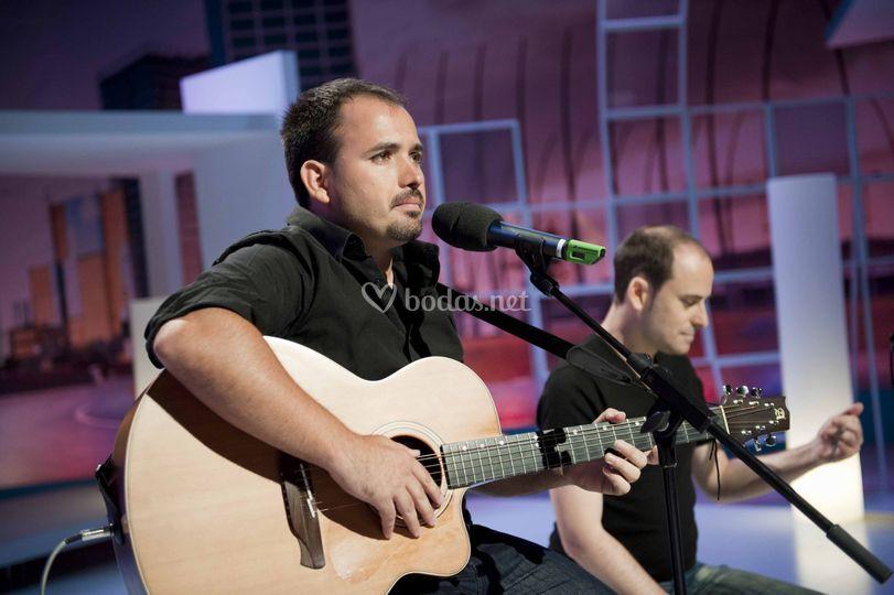 Actuación en directo TVE