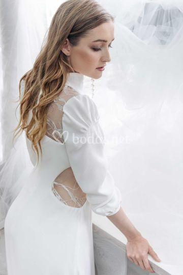 Vestido de novia 2020 manga