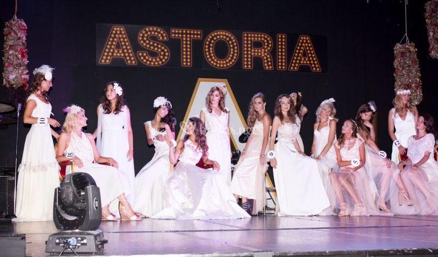 Desfile vestido novia
