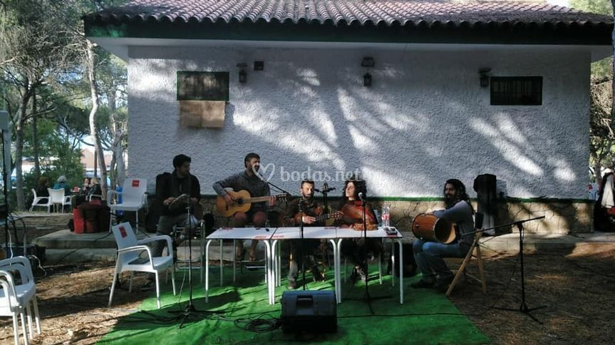 Grupo Maloca en Rota (Cadiz)
