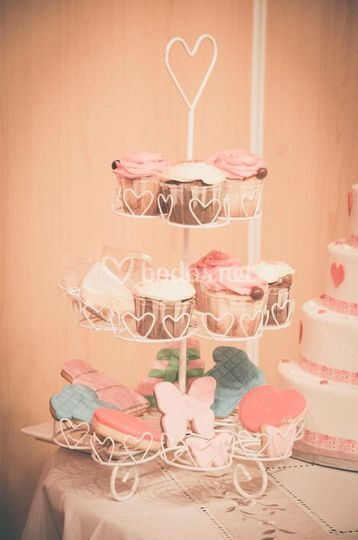 Cupcakes y candy bar