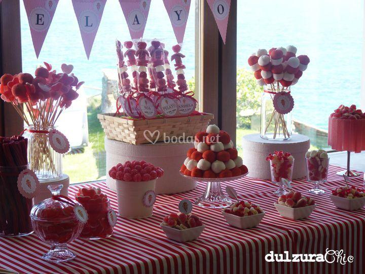 Mesa dulce temática Sporting