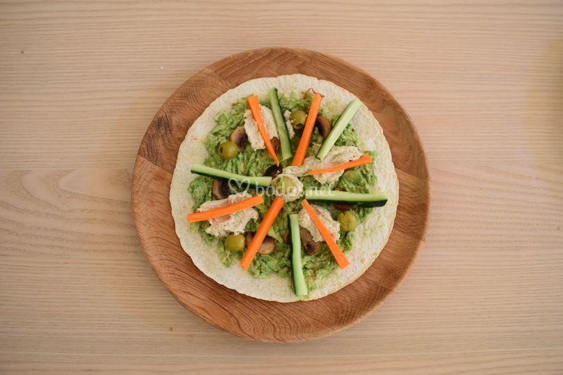 Veggy Skinny PizzaWrap