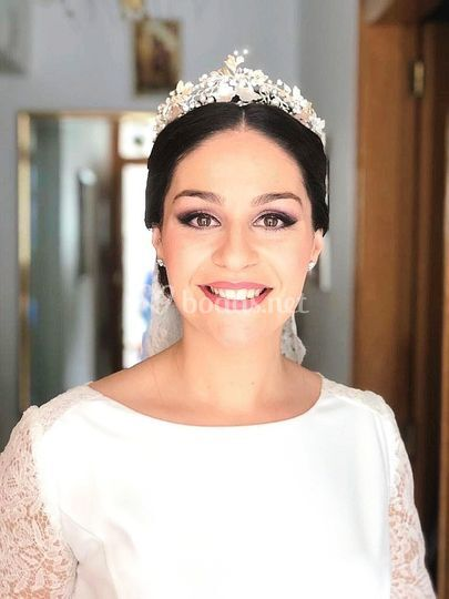 Tiara de novia, Patricia
