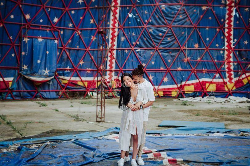 Preboda en el Circo