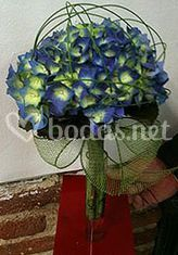 Bouquet hortensias