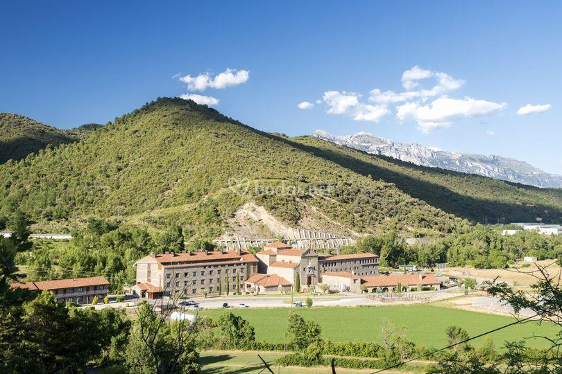Vistas del hotel de Hotel Barcelo Monasterio de Boltaña & Spa