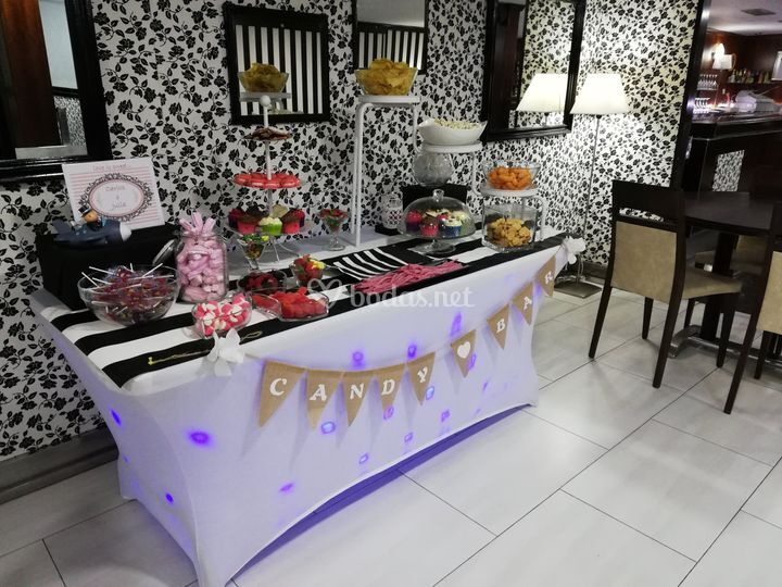 Candy bar dulce y salada