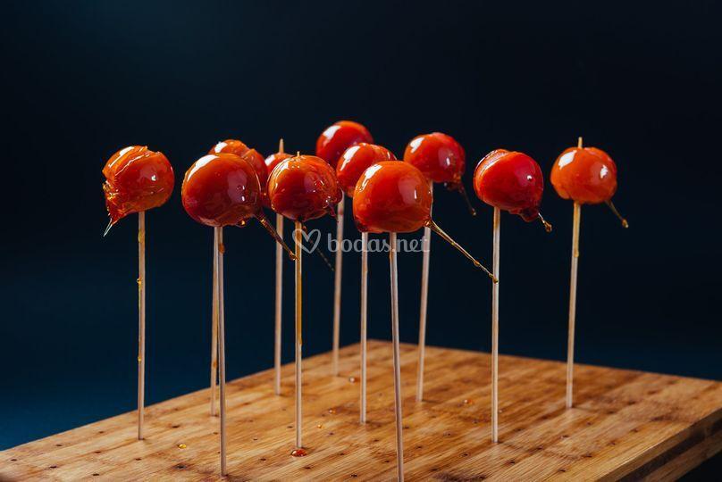 Piruleta de tomatito