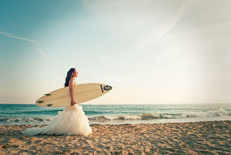 Post-boda playa