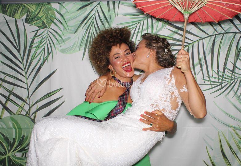 Fotomatón de boda en Málaga