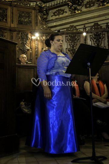 Bárbara Arredondo, soprano