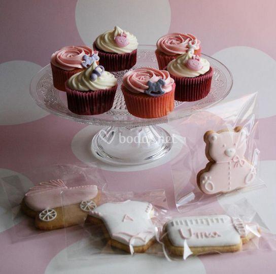 Cupcakes y galletas
