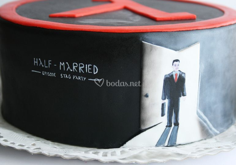 Tarta Half-married