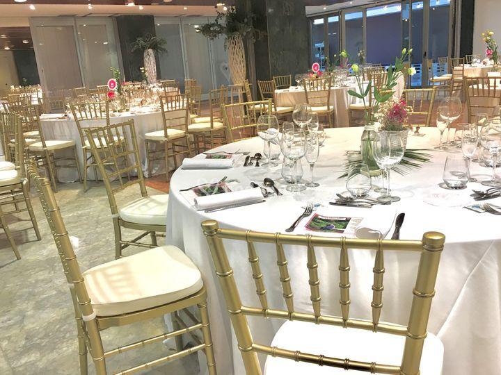 Banquete en el salón