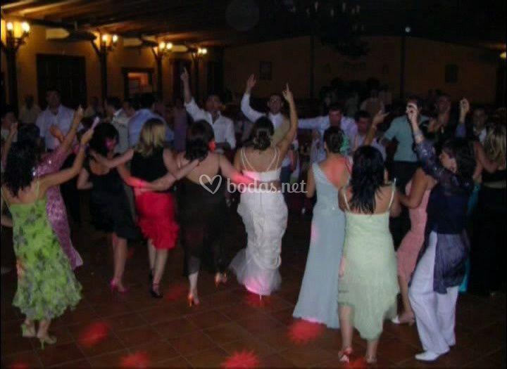 Momento para los bailes
