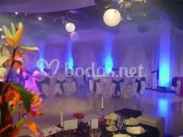 Ambientación para fiesta de boda