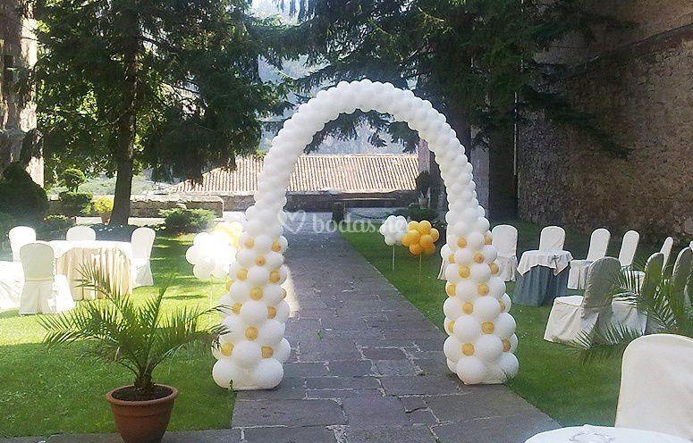 Arco con globos