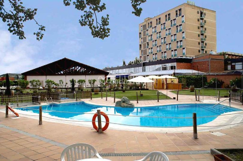Piscina de Hotel Rey Sancho