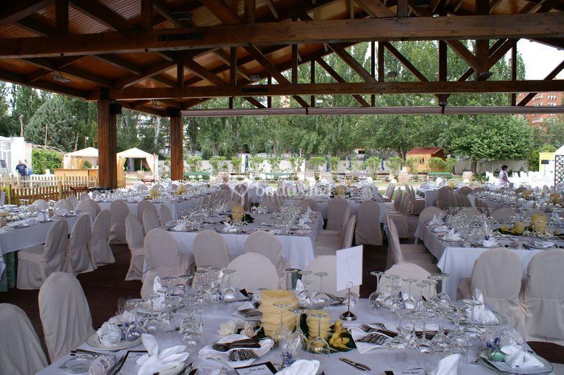 Banquete Comida  Aire Libre