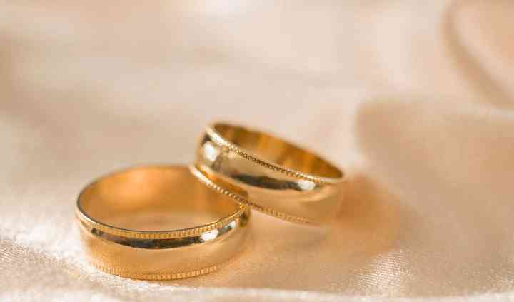 Anillos de matrimonio en oro