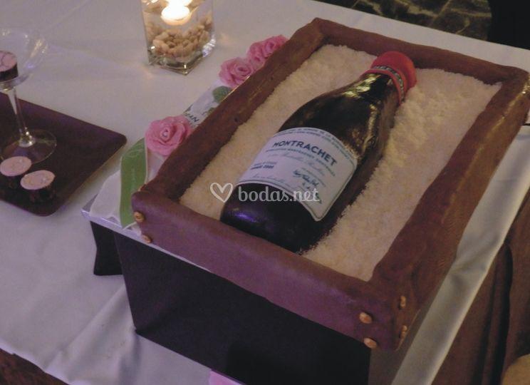 Cake botella