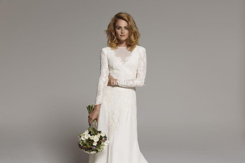 Precio vestido novia basaldua