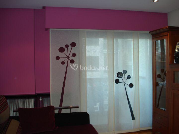 Panel japones de cortinas luis vizcaya foto 11 - Cortinas panel japones fotos ...