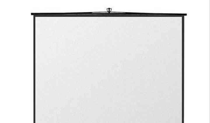 Pantalla proyección de tripode