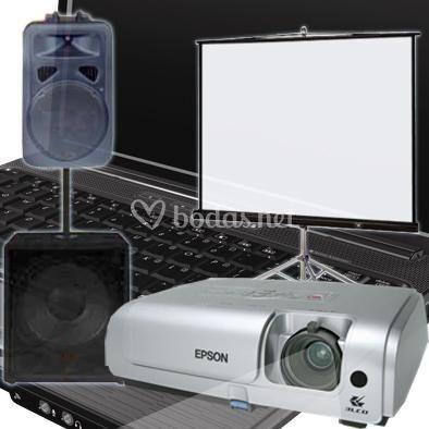 Servicios Audiovisuales de AV Proyectores