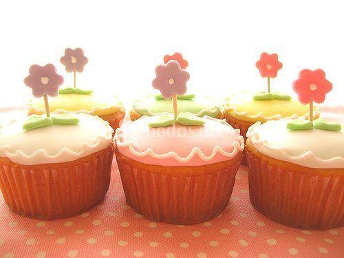 Bonitos cupcakes adornados