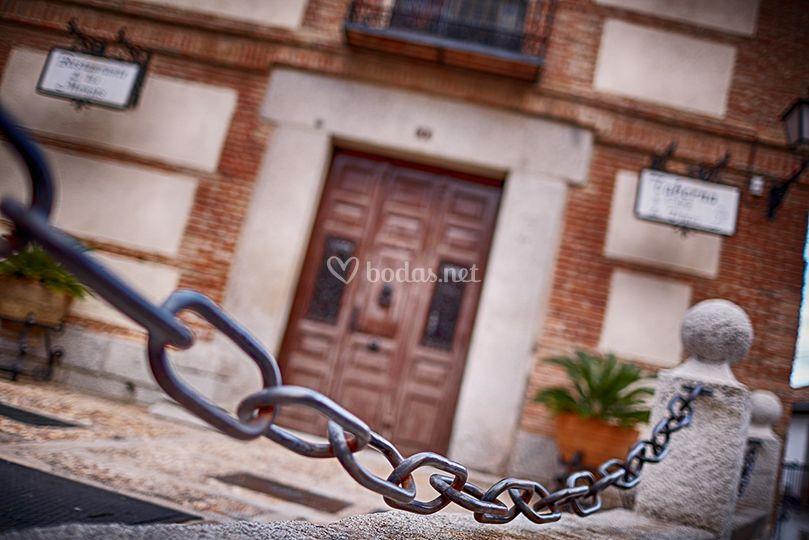 Detalle puerta centenaria