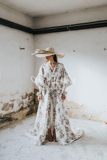 Kimono con pantalón