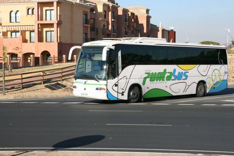 Capacidad para 59 pasajeros